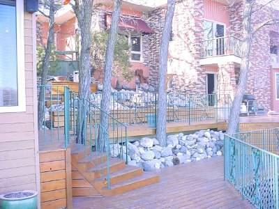 Image showing iron fence painted green and showing ability to mold into any shape.